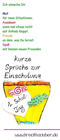 Sprüche zur Einschulung short sayings for training to make great greeting cards & congratulations to the beginning of school & great Einschulungssprüche for the gift The post Proverbs on enrollment appeared first on Leanna Toothaker. Graduation Balloons, Graduation Day, Graduation Pictures, After School Routine, School Routines, Kindergarten Portfolio, Kindergarten Lessons, I School, First Day Of School