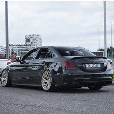 Black C63 AMG