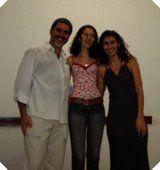 """João Carlos Melo (Presidente da Ong """"Reiki Com Você"""", Flávia Almas (jornalista) e Adriana Giudirce (secretária da Ong """"reiki Com Você"""")."""