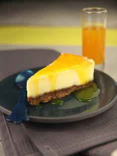 Cheesecake au citron - Envie de Bien Manger http://www.enviedebienmanger.fr/fiche-recette/recette-cheesecake-au-citron #cake #sweet #dessert