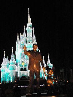 Beautiful scenes from Disney World's Magic Kingdom New Years Night.