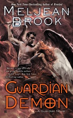 Cover Reveal: Guardian Demon (The Guardians #8) by Meljean Brook. Art by Cliff Nielsen. Coming 5/7/13