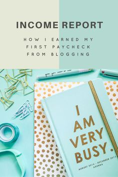 Click to see my first blog income report and how I made it happen!   http://www.bethanyashley.com/2016/06/how-i-earned-my-first-paycheck-from.html
