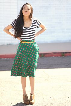 Pretty Ways to Mix Patterns by Kristine at Clothed Much Modest Fashion Blog