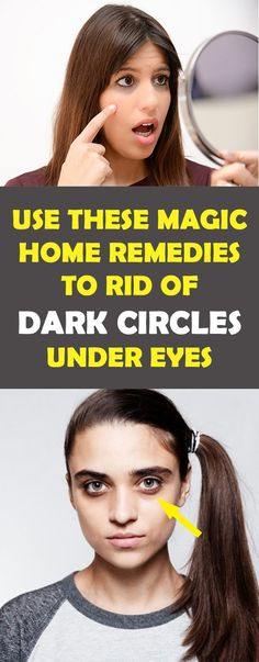 Home Remedies To Get Rid Of Dark Circles Under The Eyes - Health Care Center Dark Circles Makeup, Dark Circles Under Eyes, Dark Circle Cream, Circle Face, Natural Colon Cleanse, Colon Detox, Cleanse Detox, Natural Home Remedies, All About Eyes