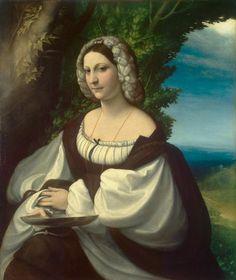 Correggio: presunto ritratto di Veronica Gambara o di Ginevra Rangoni