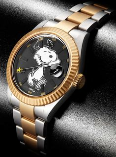 """Bamford x The Rodnik Band Snoopy Customized Rolex Limited Edition Watch"" via @watchville"