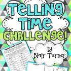 This activity will help students practice telling time in different ways. They will be tasked with creating a classroom schedule based on a table o...