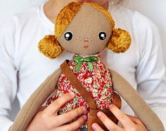 Dolls face embroidery