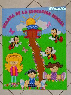 lindas manualidades: Cartel para Día de la Educación Inicial