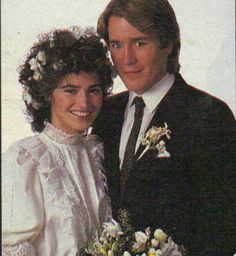 Greg and Jenny Soap Opera Stars, Soap Stars, Kim Delaney, Miss My Best Friend, Sweet Memories, Childhood Memories, Wedding Movies, Tv Soap, Movie Couples