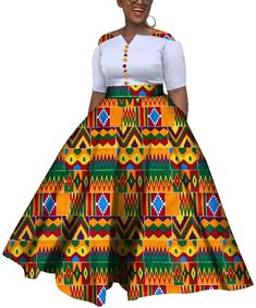 African Colorful Wedding Ankle-Length Dress Item Type: Africa Clothing Material: COTTON Gender: Women Occasion: Party,Date,Wedding,Casual Short African Dresses, Latest African Fashion Dresses, African Print Fashion, African Print Dress Designs, African Traditional Dresses, African Attire, Ideias Fashion, Kitenge, Ankle Length
