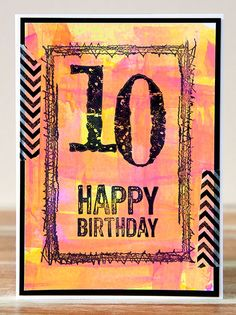Darkroom Door Stitched Threads Frame Stamp Ideas. Card by Teresa Abajo.