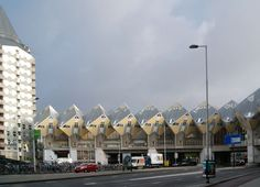Cube houses - iconic architecture of Rotterdam