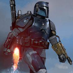 Star Wars Comics, Star Wars Rpg, Star Wars Fan Art, Star Wars Jedi, Star Wars Trivia, Star Wars Facts, Sith, Star Wars Bounty Hunter, Mandalorian Armor
