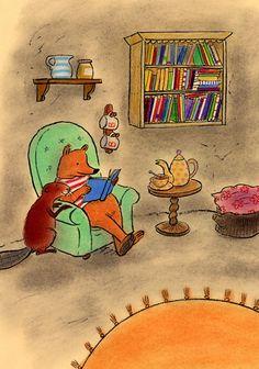 Gertie Jaquet: mei 2012. De illustrator leest voor en deelt haar eigen tekeningen als kleurplaat uit.