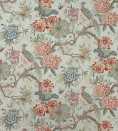 The Manor collection encompasses roaring style with lush European flair. Anna French, French Bed, French Fabric, Vintage World Maps, Wallpaper, Colonial, Floral, Homes, Bedroom