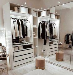 Inspiration For Your Home Walk In Closet Design, Closet Designs, Decoration Inspiration, Room Inspiration, Decor Ideas, Home Decor Shops, Home Decor Items, Deco Zen, Inspire Me Home Decor