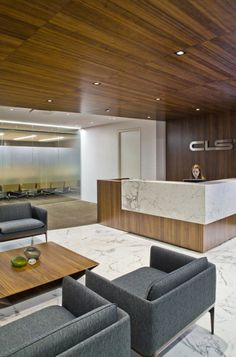 M Moser Associates has completed the office design for the New York City headquarters of global financial company CLS.