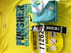 Nike Women's Half Marathon: finishers get a custom designed Tiffany & Co. necklace as a medal :) CAN'T WAIT TO DO THIS.