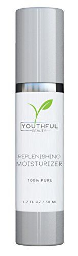 Replenishing FACE MOISTURIZER  Natural Anti Aging Facial Cream Enriched with Organic Ingredients to Hydrate Dry Skin >>> Check out this great product.