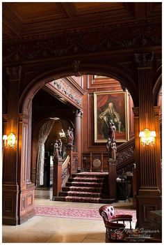 "Cliveden House interior design interior OR exterior ""Cliveden House "" Victorian Interiors, Victorian Homes, Beautiful Interiors, Beautiful Homes, Beautiful Stairs, Beautiful Beautiful, Estilo Interior, Gothic House, Grand Staircase"