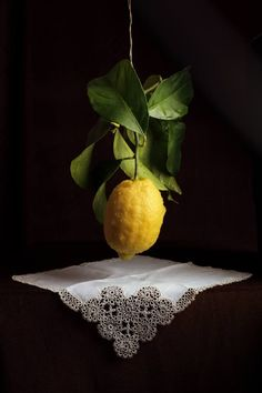 "Saatchi Art Artist Cecilia Gilabert; Photography, ""Still life on lemon hanged"" #art"