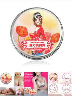 [Visit to Buy] 30g AFY Magic Enlarge Enhance Breast Cream Bigger Boobs Firming Lifting Bust up #Advertisement