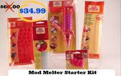 Introducing the Mod Melter: The Glue Gun Reinvented! In celebration of the new launch, you can get this awesome craft tool and its many accessories at a huge discount. Creative Crafts, Easy Crafts, Easy Diy, Diy Craft Projects, Craft Ideas, Recycled Decor, Mod Melts, Budget Crafts, Decoden