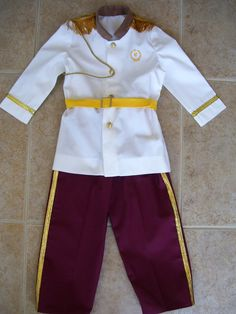 Prince Charming : this would be so cute for the boys for Disney!