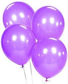 "Amazon.com: Custom, Fun & Cool {Big Large Size 12"" Inch} 1500 Bulk Pack of Helium & Air Latex Rubber Balloons w/ Modern Simple Celebration Party Special Event Decor Design [In Bright Purple]: Toys & Games"