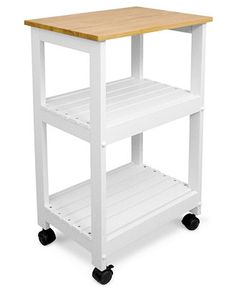 Catskill Craft Utility Kitchen Cart - Cutlery & Knives - Kitchen - Macy's
