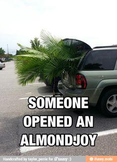 Almond Joy hahahaha