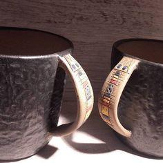 tazas de ceramica gres de media temperatura