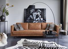 Deze bank is echt een droombank voor mij.. Super mooi, strak, mooie kleur. Living Room Styles, Living Room Color Schemes, Living Room Modern, Living Room Interior, Home Living Room, Living Room Designs, Living Room Decor, Living Room Inspiration, Home Decor Inspiration