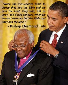 desmond tutu quotes - Google Search