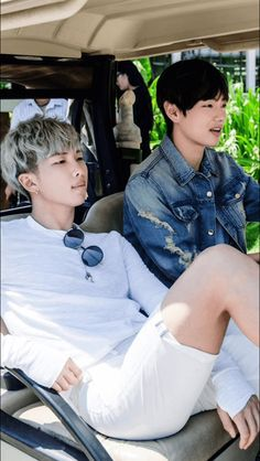 Bts v and rap monster