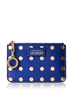 Kate Spade Saturday Women's Lots Of Dots Coin Purse, Blue