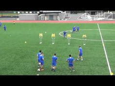 "Soccer Pass Drill ""Diamond"" from Manchester United Coach Rene Meulensteen (Coerver Coach) - YouTube"