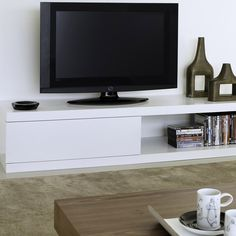 TemaHome Atoll TV Table, White | ACHICA