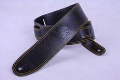 AV Basses Leather straps. Made for use mainly with AV Basses but possible use with any guitar or bass.