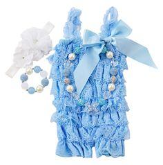 Ice Princess Light Blue & White Gift Set