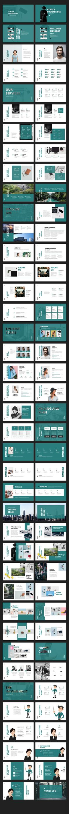 Azruca Powerpoint Templates - Creative PowerPoint Templates