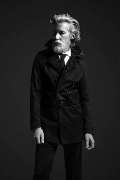 Aiden Shaw for El Burgués Fall/Winter 2014 Campaign