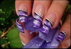 how to design non traditional french manicure | Trendy French Nail Art Designs 2011 | Personal Blog
