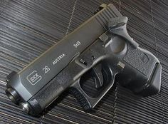 Glock 26, mainly for concealed carry after getting permit (Why is VA not constitutional carry again?)