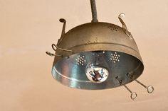 Soluzioni :: Cucine in muratura, il fascino della pietra recycled lamp
