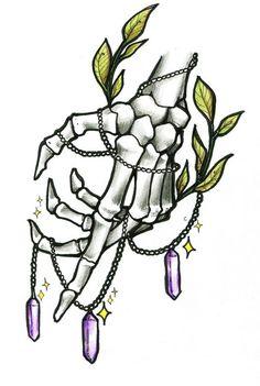 Tattoo hand skeleton #armtattoos