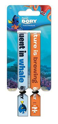Finding dory #festival #wristband #2-pack fluent in whale pyramid international,  View more on the LINK: http://www.zeppy.io/product/gb/2/381760949608/