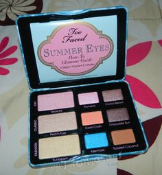 Review - Summer eyes Too Faced faked